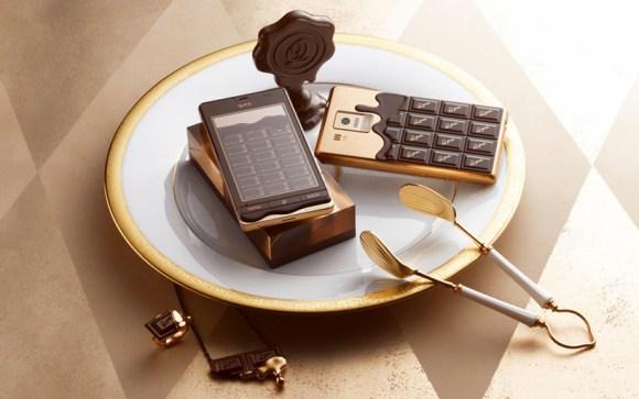 chocophone01 580x363 chocolate bar smartphone