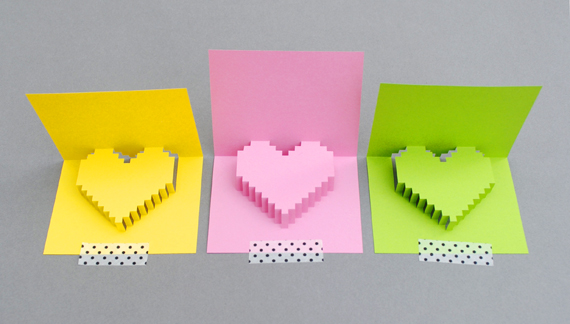 DIY Valentine POP UP CARD ทำการ์ด Handmade สุดเก๋ ส่งให้คนน่ารักกันเถอะ 13 - card