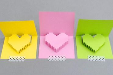 DIY Valentine POP UP CARD ทำการ์ด Handmade สุดเก๋ ส่งให้คนน่ารักกันเถอะ 19 - DIY
