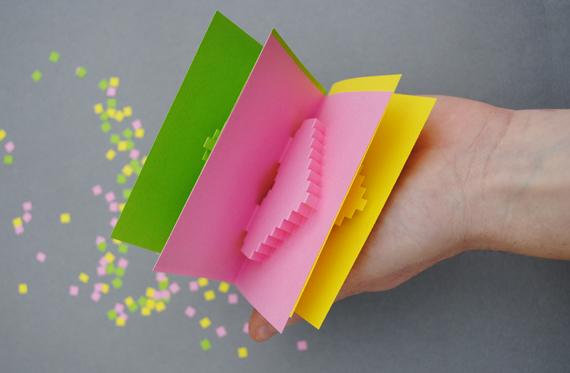 DIY Valentine POP UP CARD ทำการ์ด Handmade สุดเก๋ ส่งให้คนน่ารักกันเถอะ 10 - card