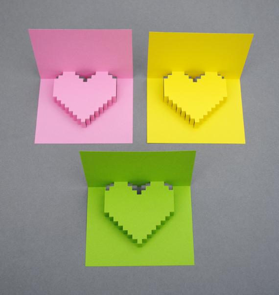 DIY Valentine POP UP CARD ทำการ์ด Handmade สุดเก๋ ส่งให้คนน่ารักกันเถอะ 11 - card
