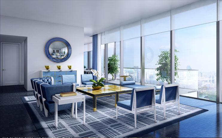 """The Ritz-Carlton Residences BKK """"มหานคร"""" ตึกระฟ้าแห่งใหม่ที่กำลังจะทำลายสถิติอาคารสูงที่สุดในประเทศไทย 20 - Apartment"""
