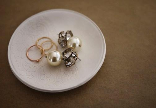 DIY.Jewelry dish 19 - ceramic