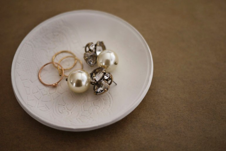 DIY.Jewelry dish 16 - ceramic