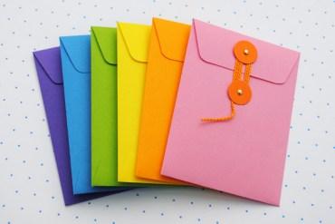 DIY.colorful envelopes 13 - envelopes