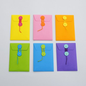 DIY.colorful envelopes 18 - DIY