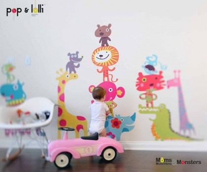 1 AC 600 500 420x350  เปิดตัว Wall stickers,Pop&Lolli by Moms,Munchkins and Monsters