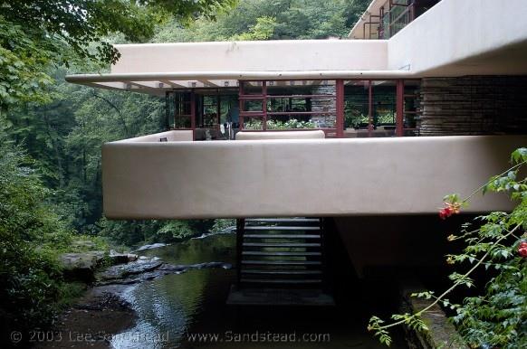 25550310 193359 Fallingwater.. บ้านบนน้ำตก ผลงานชิ้นโบว์แดงของ Frank Lloyd Wright