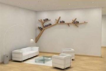 ชั้นหนังสือ..กิ่งก้านของต้นไม้ 14 - Book shelf