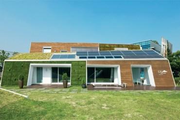 E+ Green Home ..บ้านในยุคหน้าที่เกาหลีใต้เริ่มต้นแล้ว 14 - solar panel