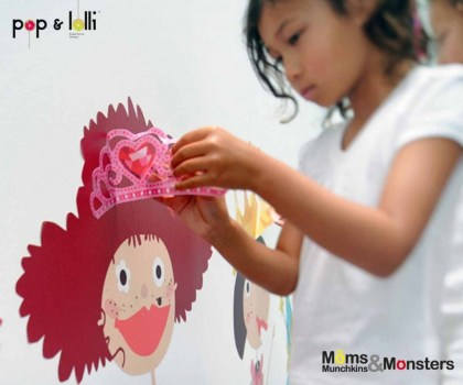 6 G 600 500 420x350  เปิดตัว Wall stickers,Pop&Lolli by Moms,Munchkins and Monsters