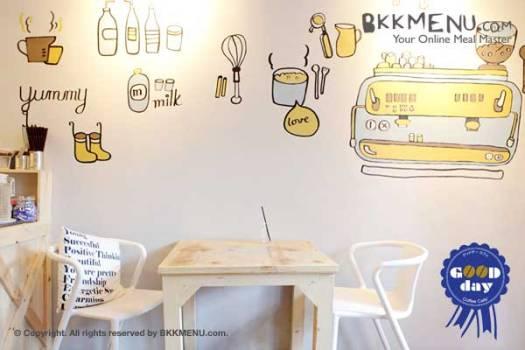 Goodday Cafe 03 525x350 หาความสุขง่ายๆได้ที่ Goodday Cafe ย่านสุขุมวิท 63
