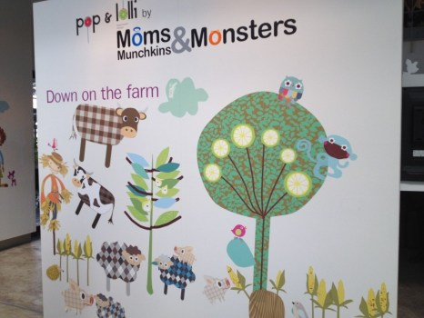 IMG 1266 466x350  เปิดตัว Wall stickers,Pop&Lolli by Moms,Munchkins and Monsters