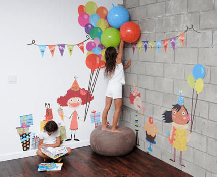 เปิดตัว Wall stickers,Pop&Lolli by Moms,Munchkins and Monsters 13 - eco-friendly