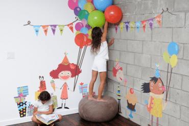 เปิดตัว Wall stickers,Pop&Lolli by Moms,Munchkins and Monsters 26 - Kid