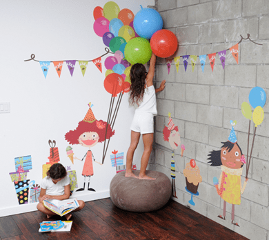 เปิดตัว Wall stickers,Pop&Lolli by Moms,Munchkins and Monsters 16 - eco-friendly