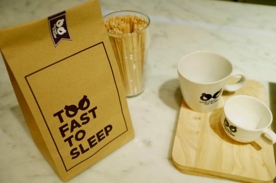 Too Fast To Sleep ห้องสมุดคาเฟ่ 24 ชม.สำหรับคนนอนดึก บริเวณสามย่าน 23 - 100 Share+