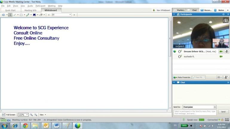 """บริการใหม่จาก SCG Experience.. """"Consult Online"""" 21 - consult online"""