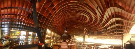 indigo deli..ร้านอาหารในบุมไบ ใช้การสร้างสรรค์บนฝ้าเพดานสร้างความแตกต่าง 14 - indigo deli