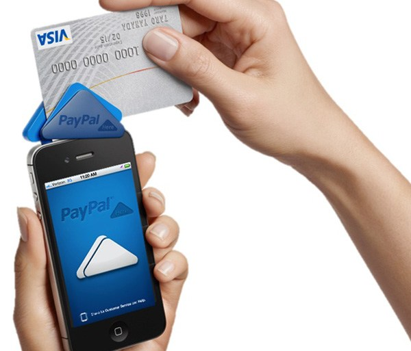 """""""PayPal Here"""" anywhere you do business ระบบชำระเงินเคลื่อนที่แบบครบวงจร 23 - Android"""