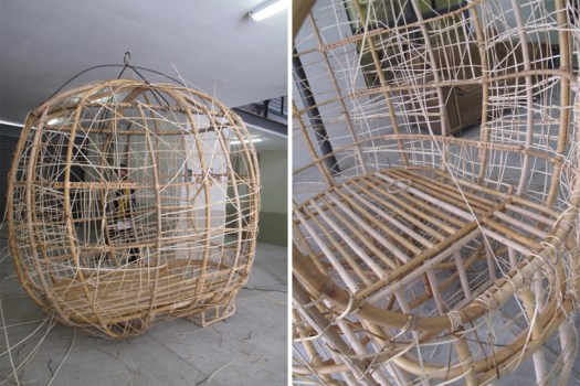 'weaver's nest' รังนกยักษ์ by Porky Hefer 20 - bird nest