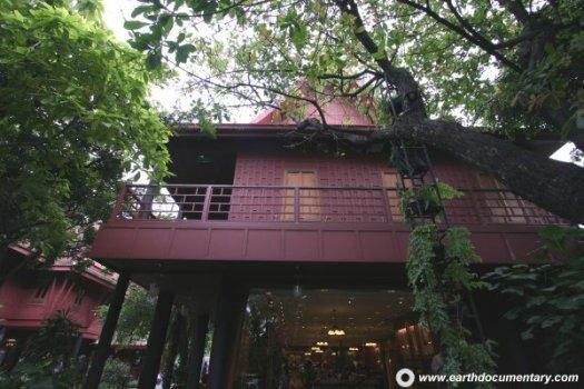 พิพิธภัณฑ์บ้านไทย จิม ทอมป์สัน Jimthompson House 22 - cafe