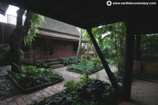 พิพิธภัณฑ์บ้านไทย จิม ทอมป์สัน Jimthompson House 24 - cafe