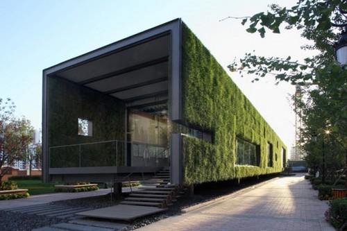 Show Room โชว์รูมชั่วคราวแบบกรีน Green Concept 13 - Green Showroom