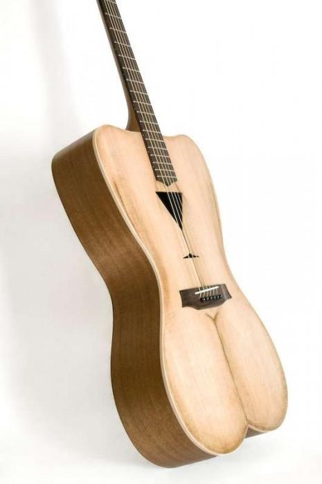 25550426 191534 Female Form 6 String Acoustic Guitar กีต้าร์โปร่งแนวๆ นู้ด..แต่อาร์ต