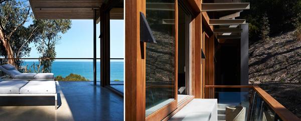 """""""Forest meets the Ocean"""" การตกแต่งบ้านฤดูร้อนแบบ """"ป่าไม้"""" นัดพบเจอกับ """"มหาสมุทร"""" โดย Robert Mills Architects 19 - Ocean House"""