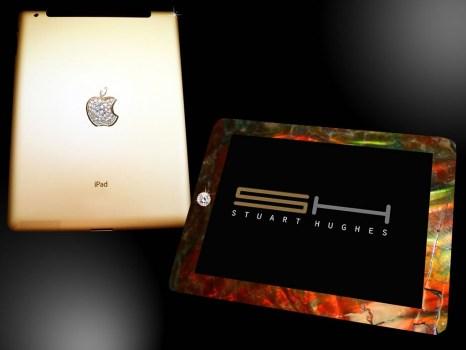 """4372 466x350 iPad 2 Crystal Gold Edition """"ไอแพด 2 แพงที่สุดในโลก"""" เครื่องละ 246 ล้านบาท"""