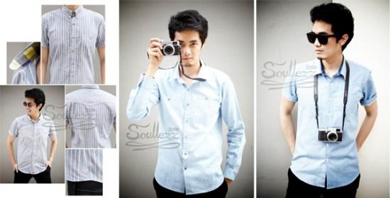 666 550x280 อยาก Good Looking Good Thinking   Soullezz Denim ต้องเสื้อผ้าสไตล์ Chambray shirt