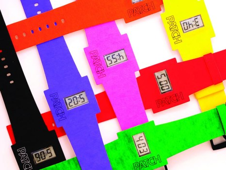 "Altanus patch paper watch 3 466x350 Altanus Introduces ""Patch"" นาฬิกาย่อยได้"