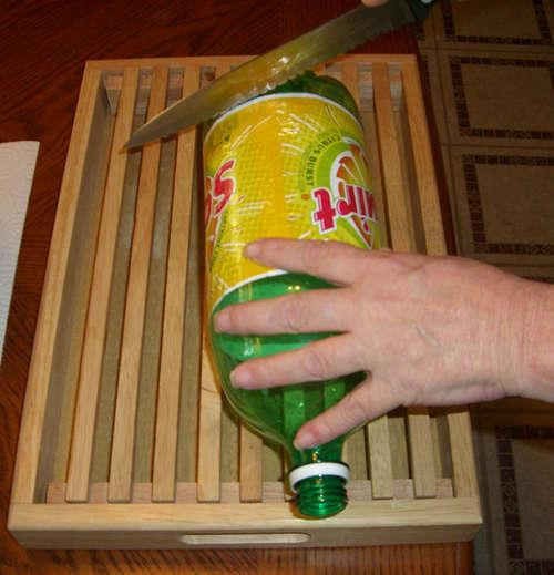 Cut The Bottle D.I.Y. กระถางกลับหัวจากขวดพลาสติกใช้แล้ว