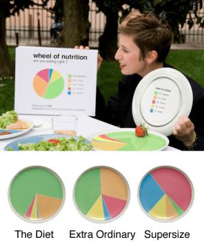 Wheel of Nutrition เหมือนมีนักโภชนาการมาเอง 16 - color
