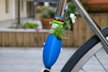 Bike planters ปลูกต้นไม้ให้จักรยาน 8 - Green