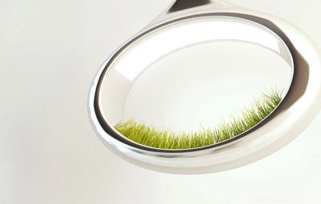 โคมไฟพลังธรรมชาติ The Grass Lamp by Marko Vuckovic  15 - The Grass Lamp
