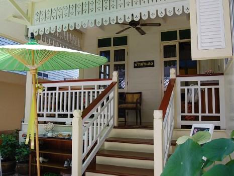 """""""บ้านดินสอ""""โรงแรมเล็กใจกลางพระนคร ภายใต้แนวคิดอนุรักษ์อาคารโบราณของไทย 6 - baandinso"""