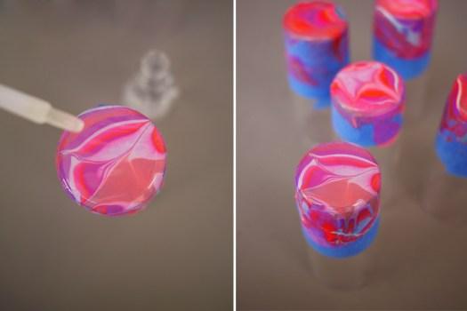 marble6 525x350 DIY.Glassware เติมสีสีสันให้แก้วใบเก่า