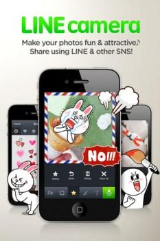 LINE Camera แต่งรูปให้สนุกด้วย icon ของ LINE 6 - Android