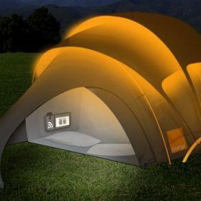 Orange Solar Tent สุดยอดเต็นท์ไฮเทค ใช้หลักการพลังงานแสงอาทิตย์ 21 - Orange Solar Tent