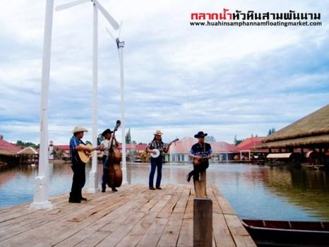 sampannam17 466x350 เที่ยวสนุกทุกวันหยุดได้ที่ ตลาดน้ำหัวหินสามพันนาม Floating market @Huahin
