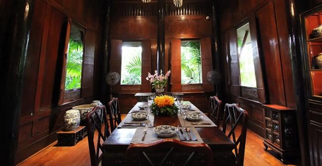 พิพิธภัณฑ์บ้านไทย จิม ทอมป์สัน Jimthompson House 19 - cafe