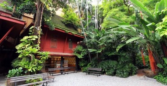 พิพิธภัณฑ์บ้านไทย จิม ทอมป์สัน Jimthompson House 20 - cafe