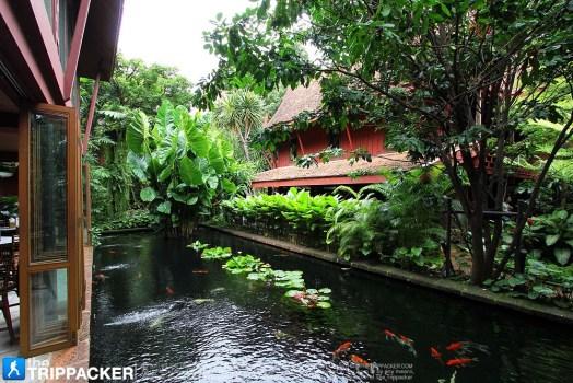 พิพิธภัณฑ์บ้านไทย จิม ทอมป์สัน Jimthompson House 14 - cafe