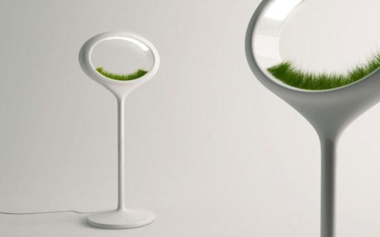 y 550x343 โคมไฟพลังธรรมชาติ The Grass Lamp by Marko Vuckovic