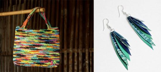 """""""ไทส่อง"""" กระเป๋าถือผลิตจากพลาสติก 17 - thaisongfairtrade"""