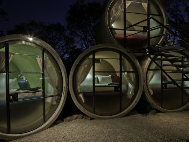 Tubo Hotel โรงแรมที่สร้างจากท่อ!! 14 - Architecture