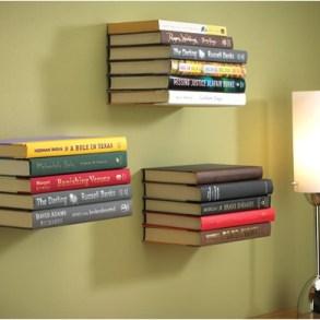 ชั้นหนังสือล่องหน...invisible shelf 16 - Book shelf