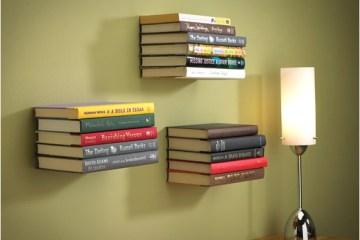 ชั้นหนังสือล่องหน...invisible shelf